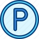 car, parking, road, transport, vehicle icon