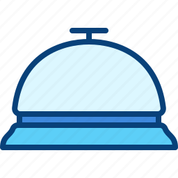 bell, customer, hotel, ring, service icon