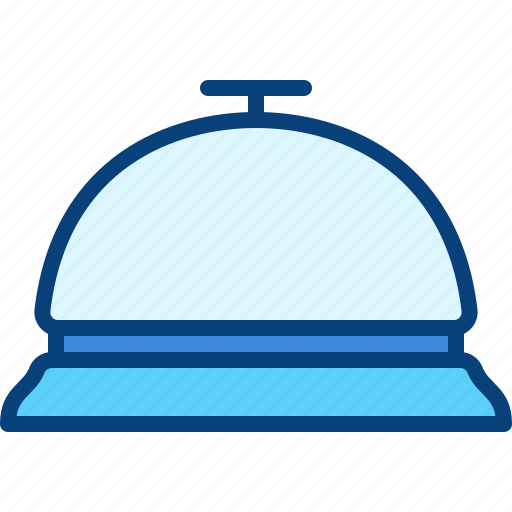Bell, service, customer, hotel, ring icon - Download on Iconfinder