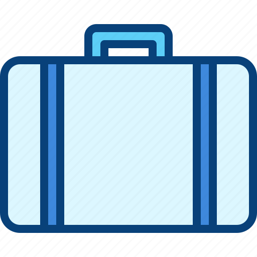 beach, briefcase, holidays, suitcase, vacation icon