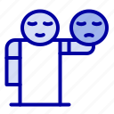 emoji, hand, healthcare, man icon