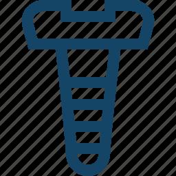 bolt, curb, screw, screwdriver, trammel icon