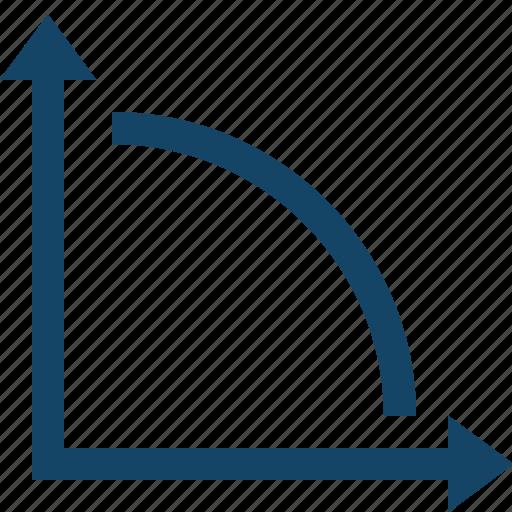 analytics, data, diagram, down, graph, report, statistics icon