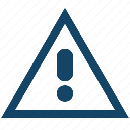 attention, car, road, shape, sign, triangle icon