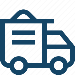 cargo, construction, delivery, logistics, lorry, shipping, truck icon