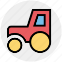 .svg, construction, farm tractor, farm vehicle, tractor, transport, vehicle