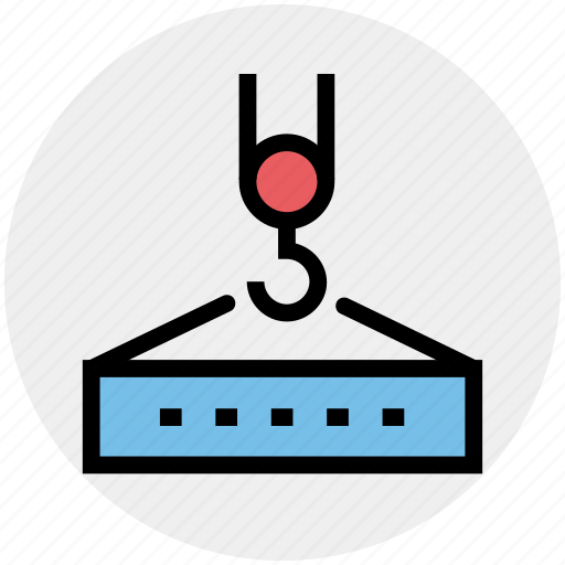 .svg, construction, crane, heavy machinery, lifting, lifting crane, luggage lifting icon - Download on Iconfinder