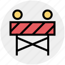 .svg, construction, construction barrier, road barrier, street barrier, traffic barrier icon