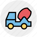 .svg, cement truck, concrete, concrete truck, construction, truck, vehicle icon