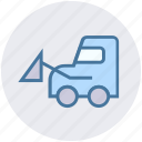 concrete truck, construction truck, truck, vehicle icon