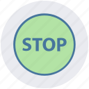 construction, drive stop, road sign, stop sign, traffic sign, warning icon