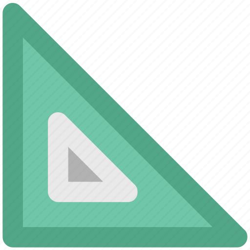 angle tool, drawing tool, geometry, measure, ruler, triangular icon