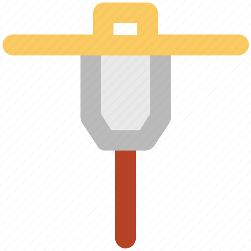 Auger, construction equipment, drain, drilling, gimlet machine, hand tool icon - Download on Iconfinder