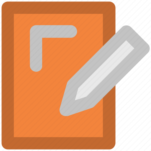 compose, copywriting, edit, notepad and pen, paper and pencil, pen, pencil icon