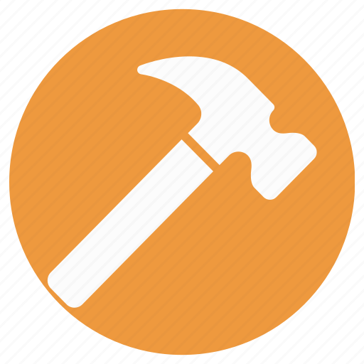 hammer, hand tool, nail fixer, nail hammer, work tool icon