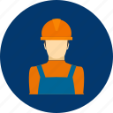 architect, builder, construction, helmet, job, people, worker icon