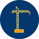 architecture, construction, crane, industry, machine, tower, work icon