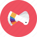 color, colorful, concept, construction, design, paper, picker icon