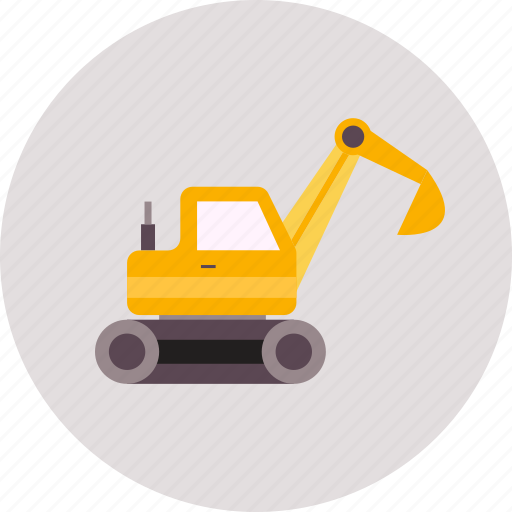 construction, excavators, industry, tool, truck, vehicle, work icon