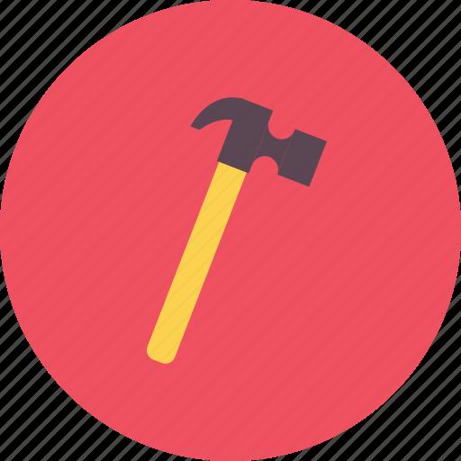 construction, equipment, hammer, industry, job, tool, work icon
