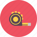 construction, equipment, industry, long, meter, tool, work icon