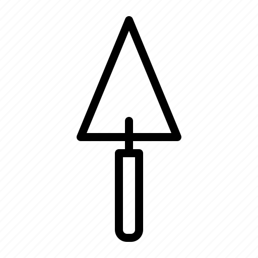 construction, shovel, spade, tool icon