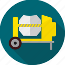 building, construction machinery, heavy machinery, machine, machinery, work icon