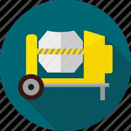 building, construction machinery, heavy machinery, machine, machinery, work icon
