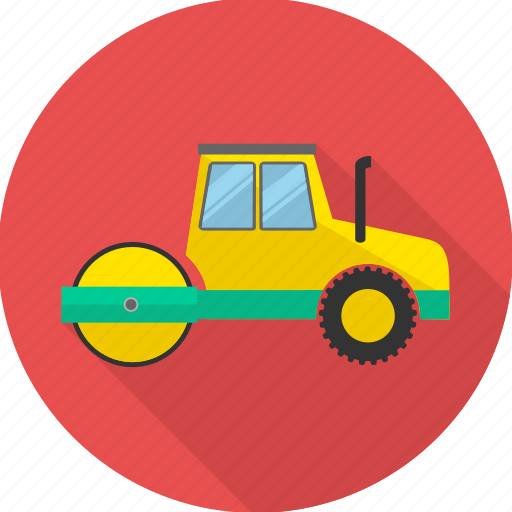 building, construction, construction machinery, crane, heavy vehicle, truck icon