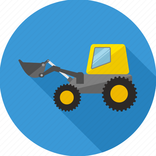 building, construction, crane, repair, tools, truck, work icon