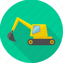 building, construction, crane, equipment, repair, tools, work icon