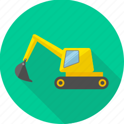 building, construction, crane, equipment, repair, tools, work icon