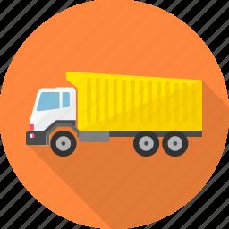 building, construction machinery, heavy vehicle, machine, truck, work icon