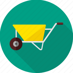 construction, repair, tool, tools, transport, trolley, work icon