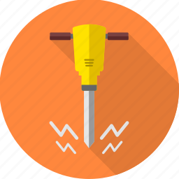 building, construction, driller, hand tool, repair, tools, work icon