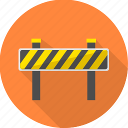 barrier, construction, design, develope, plan, project, work icon