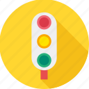 road, road safety, signals, traffic, traffic light, traffic lights, traffic signal icon