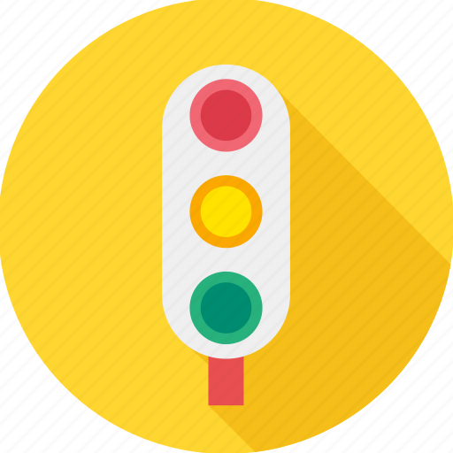 road, road safety, signals, traffic, traffic light, traffic lights, traffic signal icon
