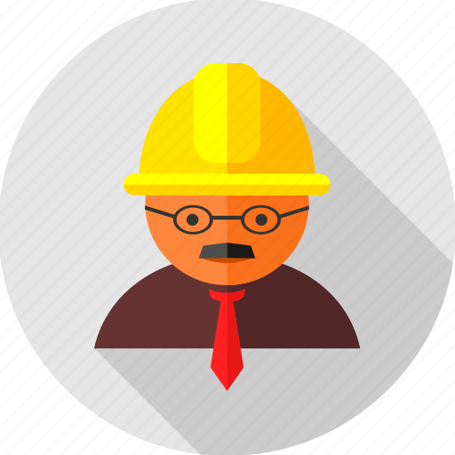 builder, construction, engineer, professional, profile, work, worker icon