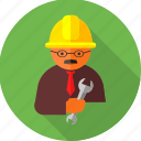 architect, construction, hand tool, labour, mechanic, plumber, repair tool icon