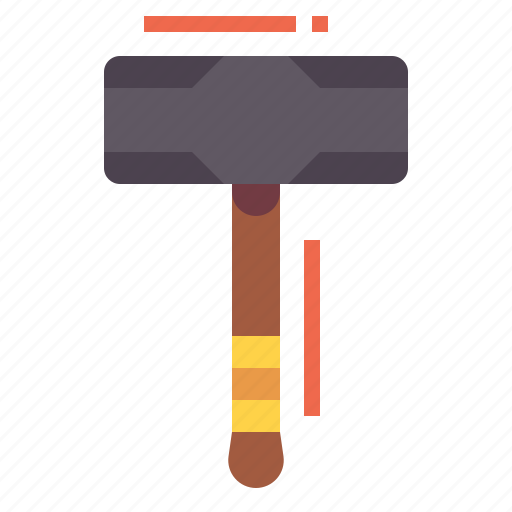 Construction, equipment, hammer, tools icon - Download on Iconfinder