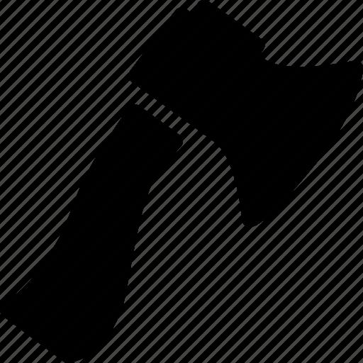 axe, construction, equipment, machine, tool icon