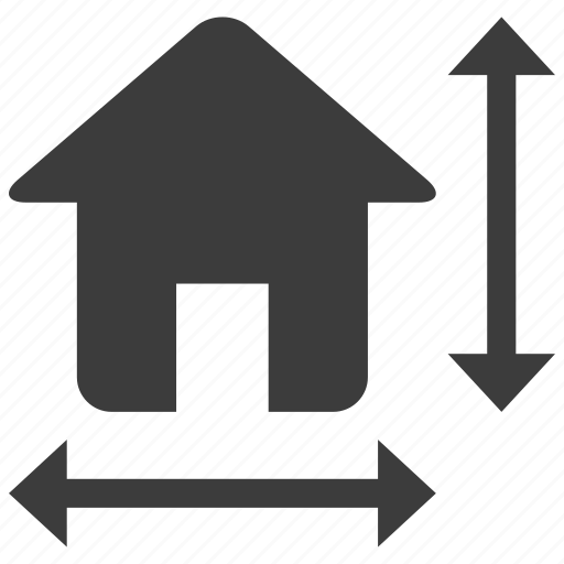 architecture, construction, home, house icon