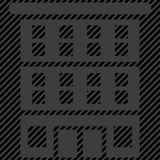 apartment, architecture, building icon