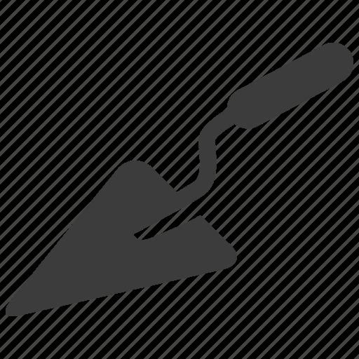 construction, tool, trowel icon