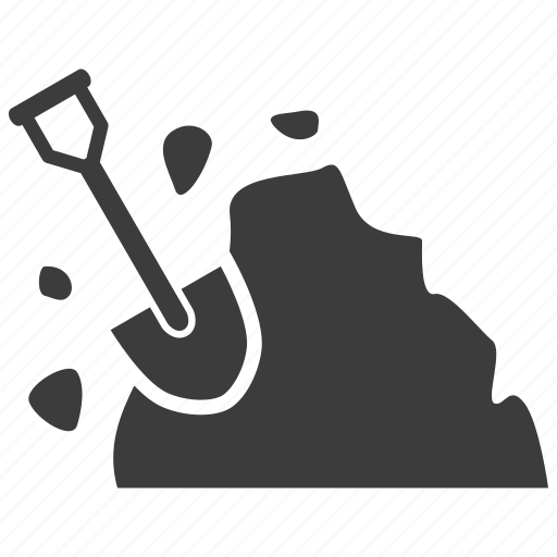 construction, dig, shovel icon