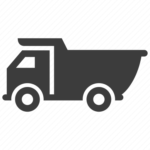 Construction, dump, truck, vehicle icon - Download on Iconfinder