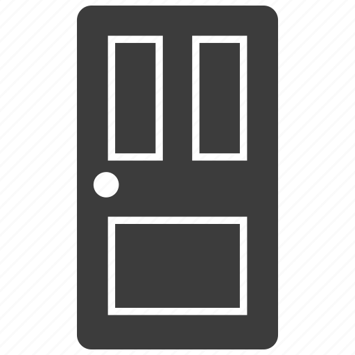 construction, door, interior icon