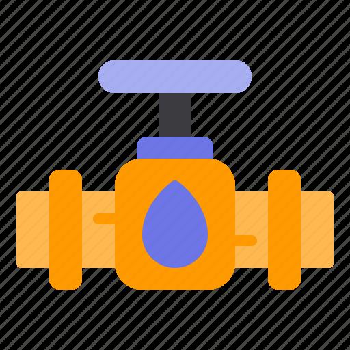machine, oil, pipe, pipeline, water icon