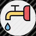 construction, faucet, nal, plumbing, sink, spigot icon